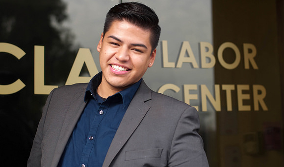 Labor Center Q&A: Diego Sepulveda