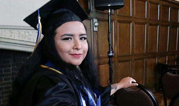Q&A with Graduate Natasha Castro