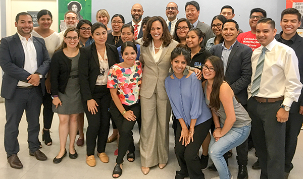 Senator Kamala Harris Hosts DACA Roundtable