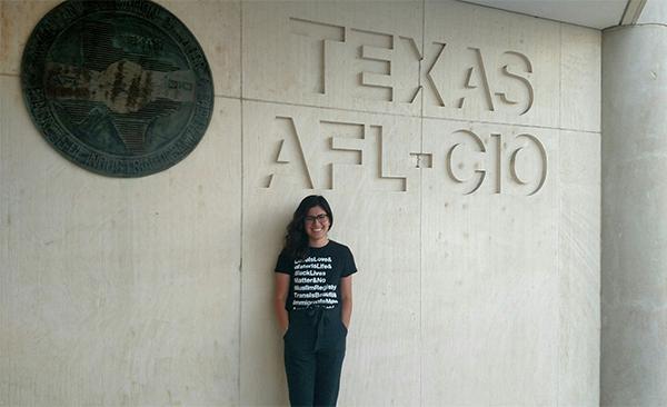 Texas AFL-CIO Hires Dream Summer Fellow