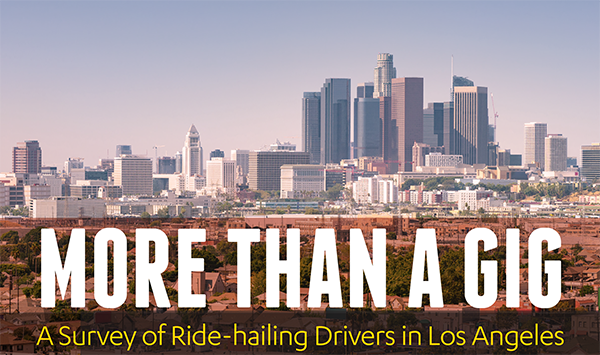 New UCLA Report Finds Driving is More than a Casual Gig for LA Ride-Hailing Drivers