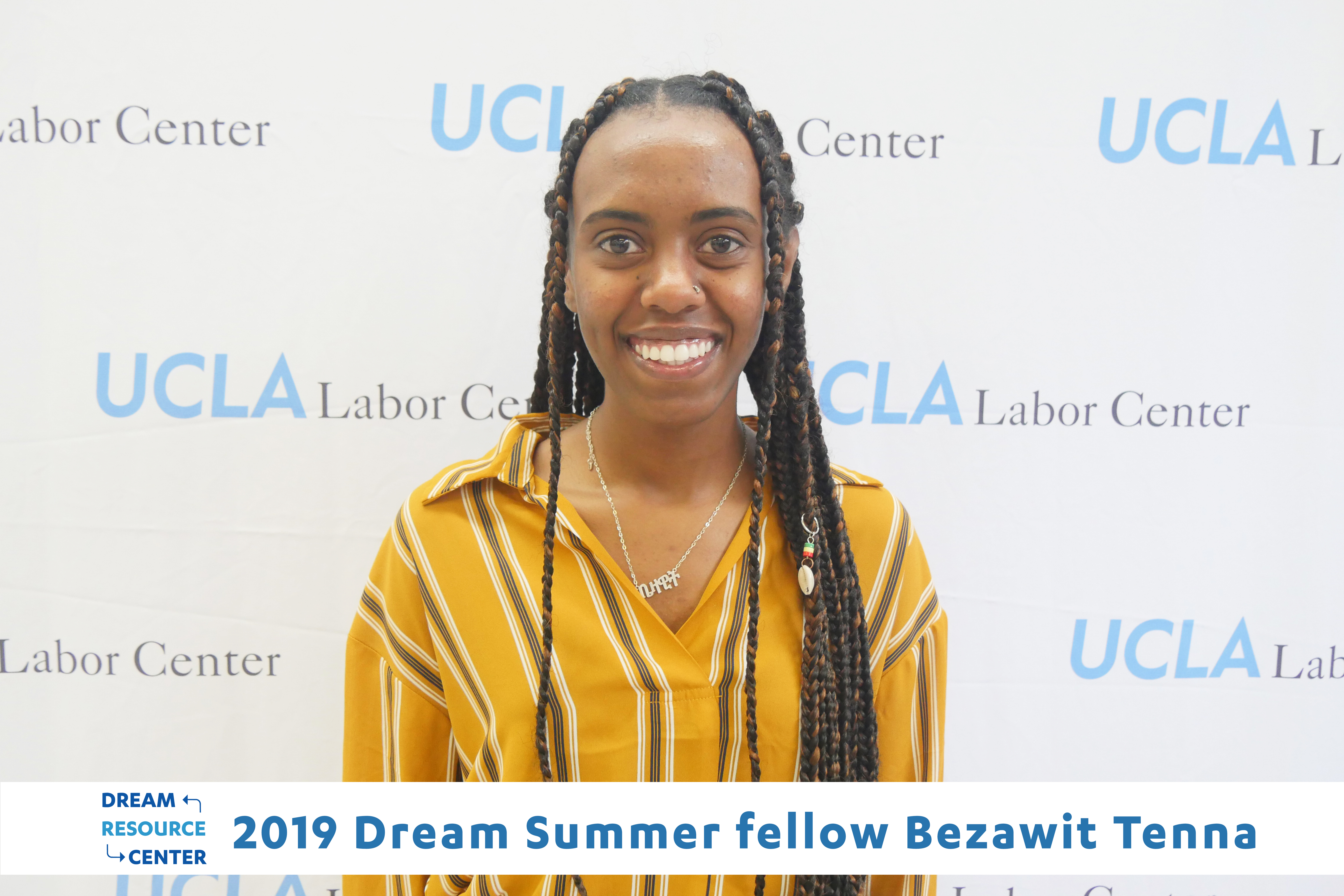 Meet Dream Summer 2019 Graduate, Bezawit Tenna